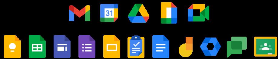 Google Workspace for Educationアプリロゴアイコン